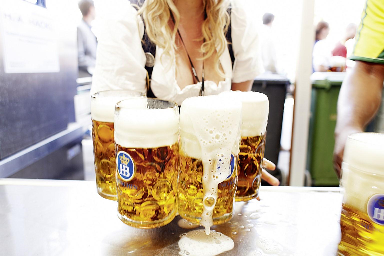 Oktoberfest Bierpreise - Was kostet das Bier auf der Wiesn